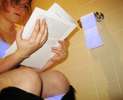 Не читайте в туалете!