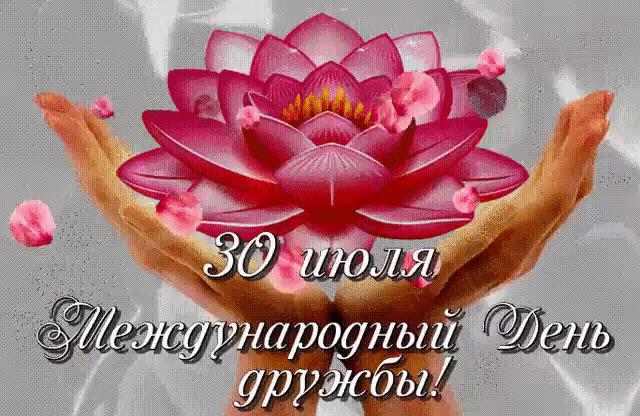 Сегодня международный день дружбы